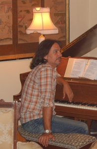 James Slater at the Piano